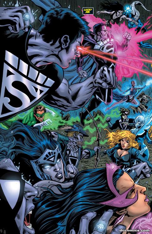 adventure comics starring black lantern superboy  7