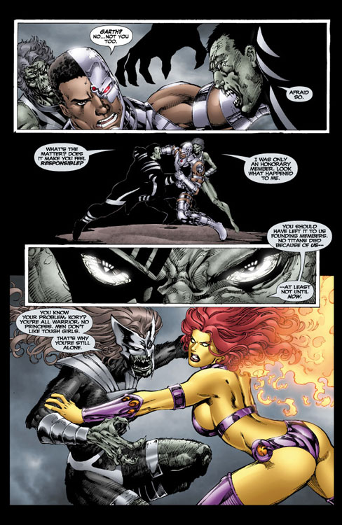 Blackest Night Titans 3 Previews Amp Spoilers Batmanytb