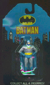 BATMAN ~ COMPLETE SET OF 4 PVC CHARACTERS MADE BY APPLAUSE BRAND NEW FROM 1992